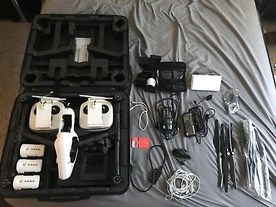 DJI Inspire 1 With batteries, 2 remotes, and range extender.