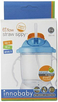 Innobaby Sippin' Smart Toxic Free EZ Flow Straw Sippy Cup 10 oz