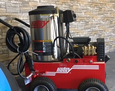 Used Hotsy 795SS Hot Water Electric / Diesel 3.5GPM @ 2000PSI Pressure Washer