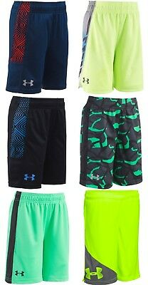 New Under Armour Boys Select Shorts Size 2T, 3T, 4, 5, 6, 7