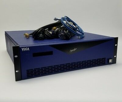 Christie Vista Systems Video Processor Spyder Model 344 Software/Cables Included