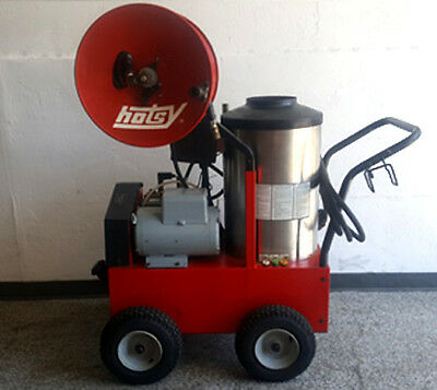 Used Hotsy 895SS Hot Water Electric / Diesel 3.5GPM @ 3000PSI Pressure Washer