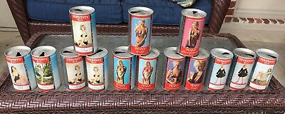 Vintage Tennants Girls Lager Beer Can LOT Of 14