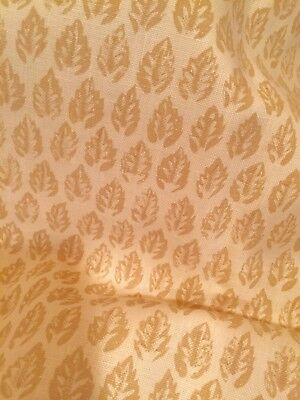 Peter Fasano Cotton Linen Fabric Brompton Straw 1.5+ Yards