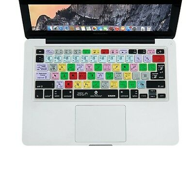 "XSKN Adobe Photoshop PS CC Shortcuts Keyboard Skin Cover for 13"" 15"" 17"" MacB..."