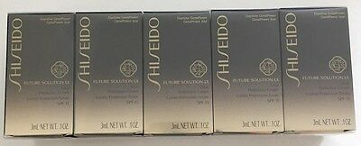 5 x Shiseido Future Solution LX Total Protective Cream SPF 15 3ml each (15ml)