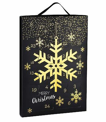 SIX Christmas Advent Calendar Girls with 24 Jewellery Surprises Ring Necklace...