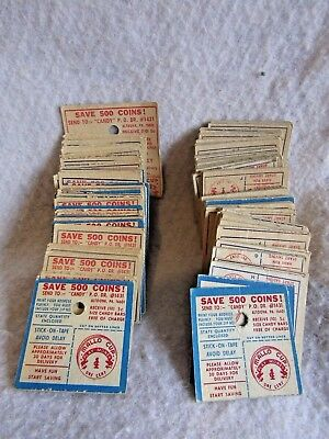 Vintage Lot of Mallo Cup Coins 170 total
