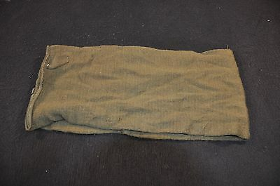 USGI OD Green Military Wool Scarf, Tube Style, Issued Condition