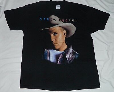 Vintage Garth Brooks 1995 Fresh Horses Concert Tour T Shirt X Large