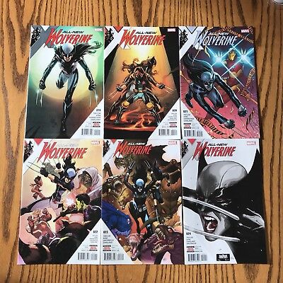 ALL NEW WOLVERINE- lot 19-24 - Marvel X-23