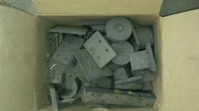 EDM Graphite Used 13 lbs glass blowing.                           Box1