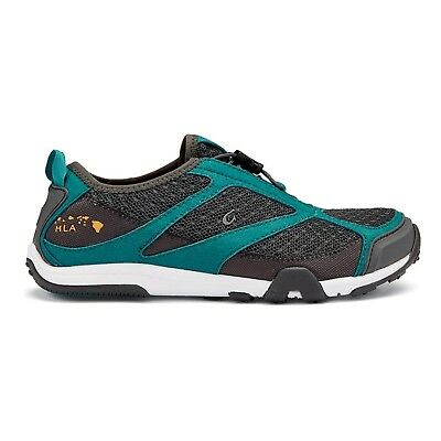 (7 B(M) US, Dark Shadow / Teal) - OluKai Eleu Trainer - Women's. Free Shipping