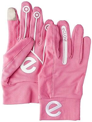 (Pink, Small) - eGlove Women Sport Touch Screen Running Gloves. Best Price