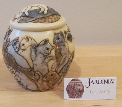 Jardinia Cats Galore Cachepot Jar Harmony Ball With Card
