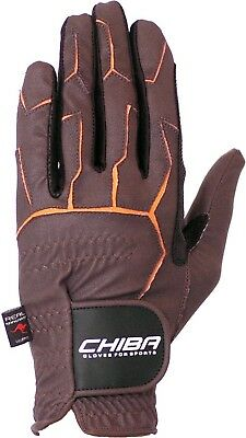 (XX-Large, Brown) - Chiba Gloves Sport Horse Riding Glove. Brand New