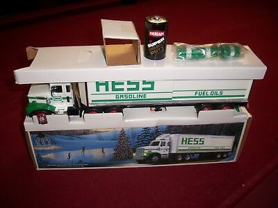 1987 HESS TRUCK with smooth tanks I.O.B.