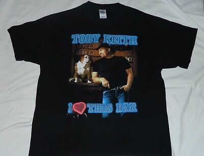 Vintage 2003 TOBY KEITH Shock'n Y'all Concert Tour T Shirt X Large