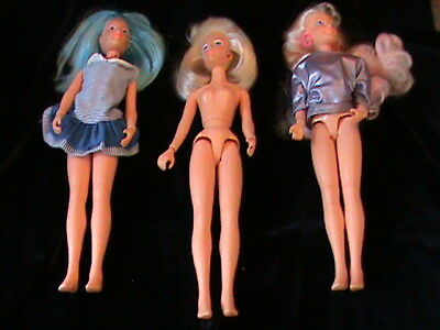 Vintage Jem and the Holograms Doll Lot Hasbro 1980s