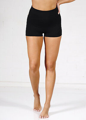 NEW - QueenBee® - Ronnica Organic Cotton Maternity Shorts in Black