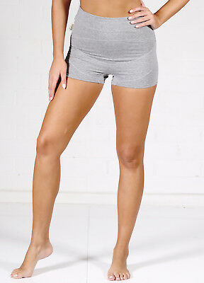 NEW - QueenBee® - Ronnica Organic Cotton Maternity Shorts in Grey