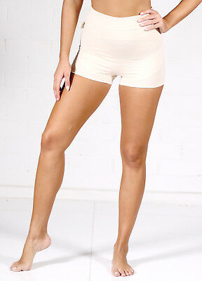 NEW - QueenBee® - Ronnica Organic Cotton Maternity Shorts in Nude