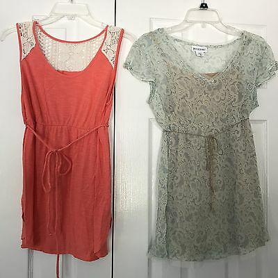 3 PC Maternity Lot Work Business Career Clothes Shirts Blouse Size SMALL/MEDIUM