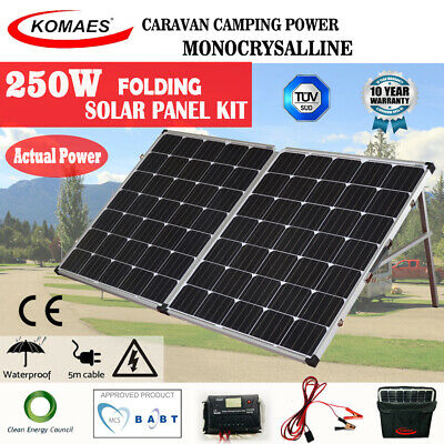 Solar Panel Kit 200W 24V House Power Kit Camping  Source Charge Caravan Mono