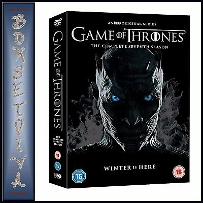 Game Of Thrones - Complete Season 7 - Seventh Season  *Brand New Dvd*