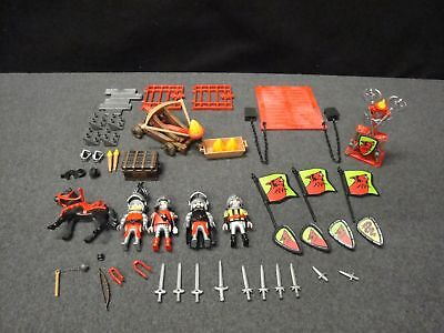 Playmobil 5803 Red Wolf Knights Castle Replacement Parts Figures Accessory Lot