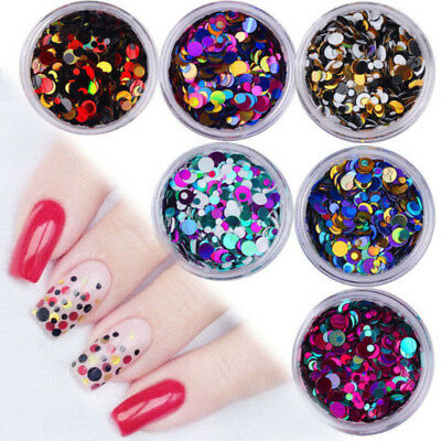 Chunky Mixed Glitter Pot-Nail Face Eye Body Tattoo Festival Dance Club Cosmetic