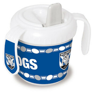Canterbury Bulldogs NRL Training Sipper Sippy Cup With 2 Easy Grip Handles Gift