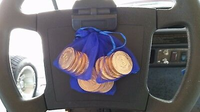 15 Bitcoin Chocolate Coins in 3 Bags of Chanukah Gelt Kosher NO BTC VALUE