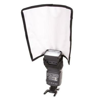 Foldable Flash Lighting Snoot Bender Diffuser for Canon 580EX 580EXII 550EX