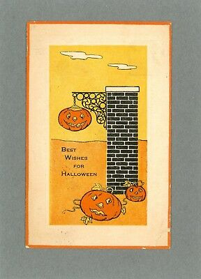 Fairman - Vintage Halloween Postcard