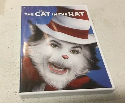 Dr. Seuss The Cat in the Hat (DVD, 2015)