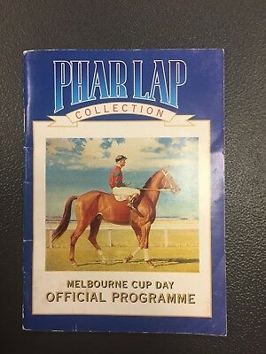 Tooheys Beer Phar Lap Commemorative Race Book