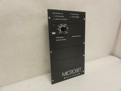 172917 New-No Box, Nordson 110039A Microset Multi-Scan Controller