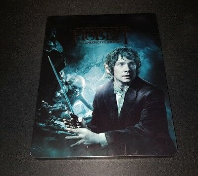 The Hobbit An Unexpected Journey Steelbook Blu-ray NO MOVIE INCLUDED