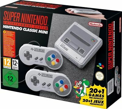 [ Super Nintend0 Classic Mini ] - Neu & Ovp - Sofort Ab Lager Lieferbar!!!