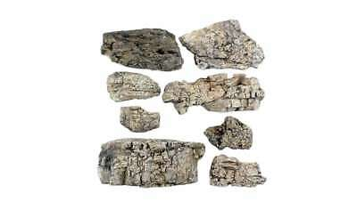 Woodland Scenics C1137 Ready Rocks Faceted Rocks Multi-Colored 724771011378