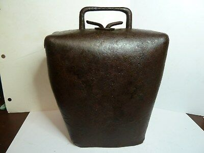 Sw.jones Condamine  Cow Bell With His S.w.j. Trade Mark