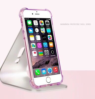 For Apple iPhone 7/8 Case Clear Hybrid Slim Shockproof Soft TPU Bumper Cover ON