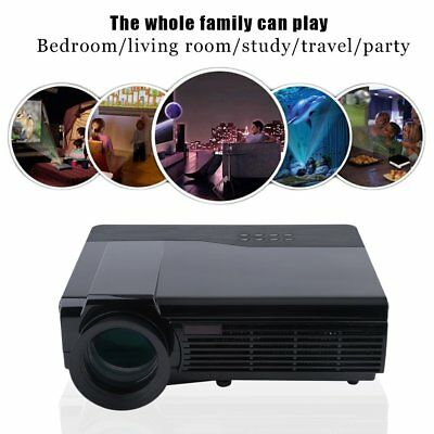 5000 LM HD LED Projector Home Entertainment Theater Games HDMI USB AV 1080P AU