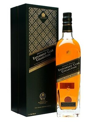 Johnnie Walker Explorers Club Collection The Gold Route Blended Scotch Whisky 1L