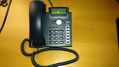 SNOM 300 VoIP PoE Business Phone - with Power Supply