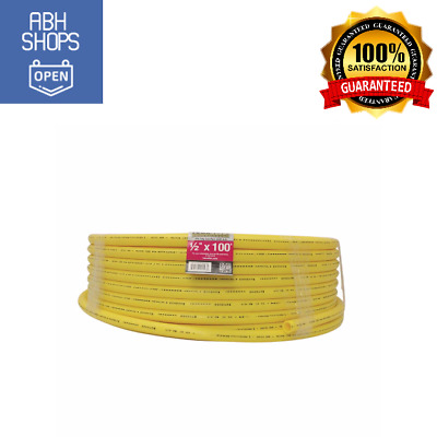 HOME-FLEX 100ft Yellow Polyethylene Gas Pipe Underground Use Easy Attach Quality  sc 1 st  PicClick & HOME-FLEX UNDERGROUND 1 in. x 100 ft. Yellow Polyethylene Gas Pipe ...