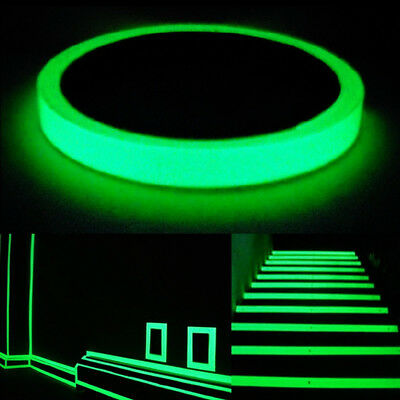 Hot Glow In The Dark Luminous Tape Band Self-adhesive-Safety Stage Home Decor
