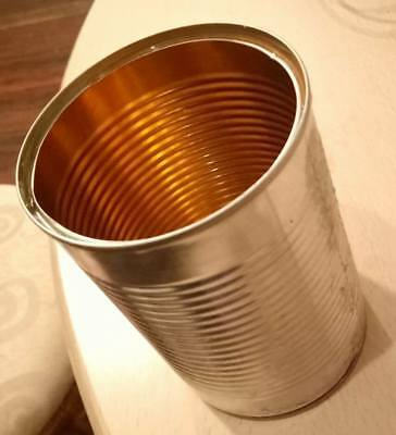 Tin Can Pen Holder - One Half Communicator - Unique Time Stamped Identifier