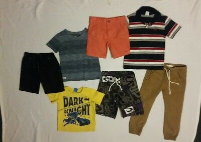 Boys clothes size 4 bulk pack with 7 items inc Rip curl